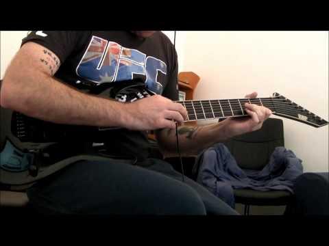 Deftones - Entombed 8 String Guitar CoverDeftones - Entombed - ESP Stef B8 cover