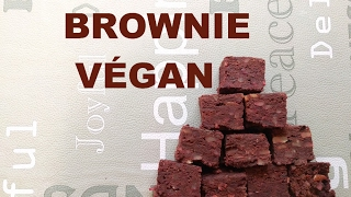 Un brownie très très végan
