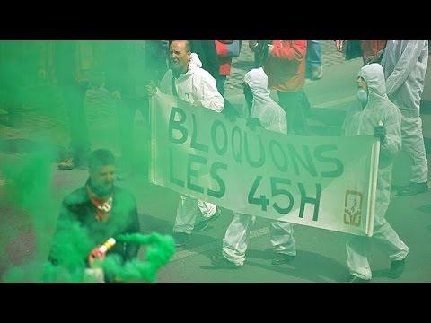 Βρυξέλλες: Επεισόδια και δρακυγόνα στη μεγάλη διαδήλωση για τα εργασιακά