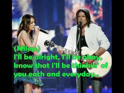 Tekst piosenki Miley Cyrus & Billy Ray Cyrus - Get ready, get set, don't go po polsku