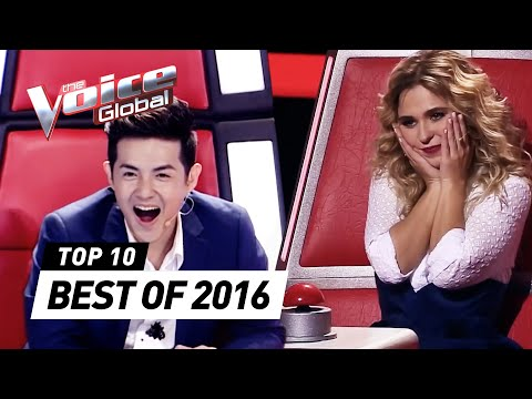 TOP 10 | BEST 'Blind Auditions' of The Voice Kids 2016 (видео)