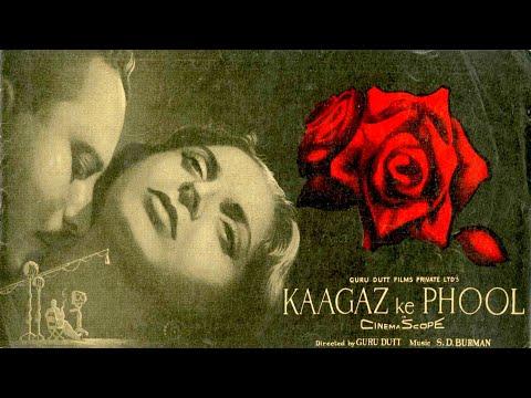 Kaagaz Ke Phool 1959 With English Subtitle - Romantic Movie | Waheeda Rehman, Guru Dutt.
