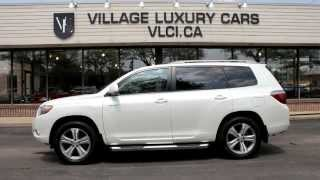 2009 Toyota Highlander In Review - Village Luxury Cars Toronto