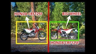 5. Honda CRF125F And CRF125F Big Wheel Review