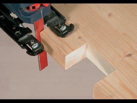 Schleifen mit der Stichsäge - Schleif-Blitz - Holzwerken mit Stichsäge