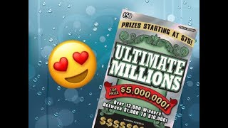 Scratching a $50 Ultimate Millions Texas Lottery Scratch Off Tickets. Will I find a big win? Stay tuned. Join me on Facebook: https://www.facebook.com/TexanCandy/    Fan Mail:Candy PO Box 241763San Antonio, TX 78224