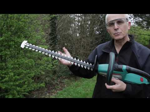 Bosch AHS 54 20 Li Cordless Hedge Cutter - FIRST LOOK