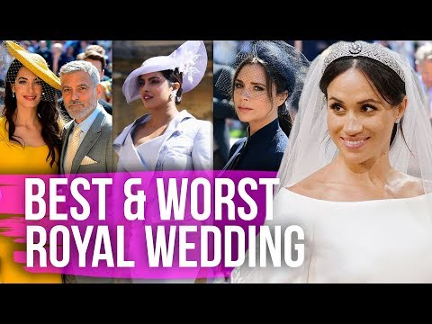 Best & Worst Dressed Celebs at the Royal Wedding (Dirty Laundry) (видео)