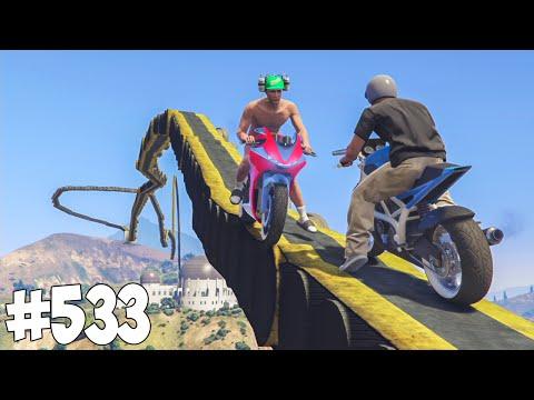 100% IMPOSSIBLE ! MARSUPILAMI ! GTA 5 ONLINE COURSE #533 (видео)