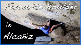 Bouldering in Alcaniz - Subversion 7b+ by The Climbing Nomads