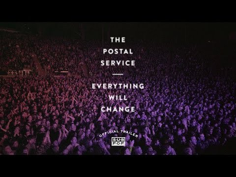 Watch the trailer for Postal Service documentary Everything Will Change