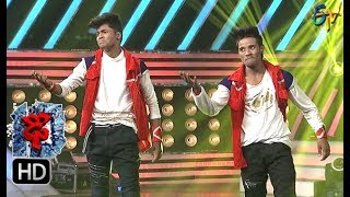 Video Raju Performance | Dhee 10 | 4th October 2017| ETV Telugu MP3, 3GP, MP4, WEBM, AVI, FLV Januari 2018