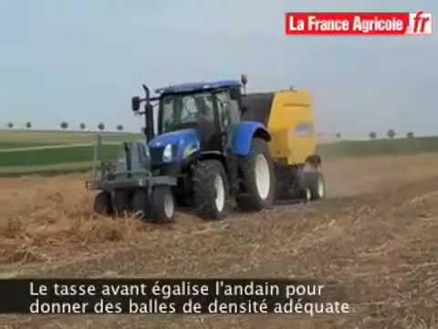 Une presse adaptée au conditionnement du chanvre - tracteur et matériel agricole
