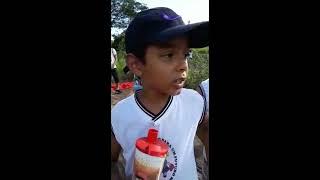Eco Kids de Nova Canaã (BA) deixam sua mensagem sobre o rio Vigário