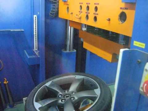 Испытание диска WSP Italy W567 Giasone на удар обода (Audi)