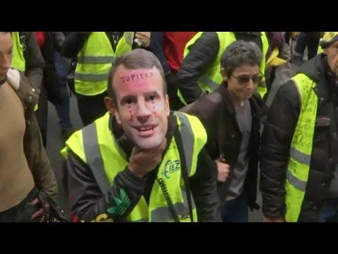 Frankreich: Die Gelbwesten demonstrieren, Proteste au ...