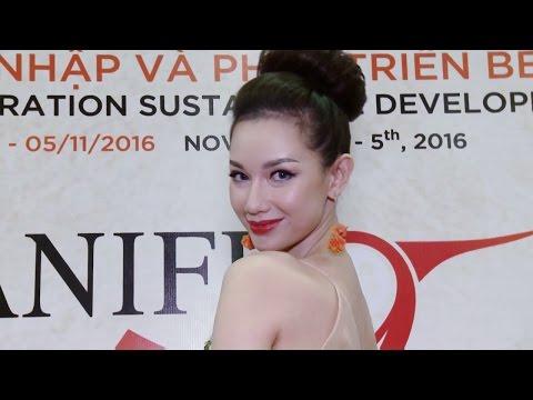 Người đẹp dự thảm đỏ Liên Hoan Phim Quốc tế Hà Nội Haniff - BĐS Phát Đạt - Nhà tài trợ Kim Cương