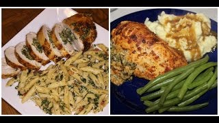 PLEASE CHECK TEMPERATURE OF CHICKEN WHEN DONE! Hope you enjoyed this video! Shopping List : 5-6 chicken breast Frozen chopped spinach Italian ...