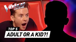 Video These MATURE VOICES SHOCK The Voice Kids coaches MP3, 3GP, MP4, WEBM, AVI, FLV Juni 2019