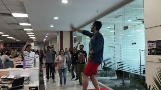 Happiness Dance Fit ® corporate fitness and wellbeing session at HDFC Securities