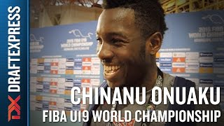 Chinanu Onuaku 2015 FIBA U19 World Championship Interview