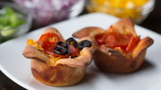 Easy Pizza Cups by Tasty