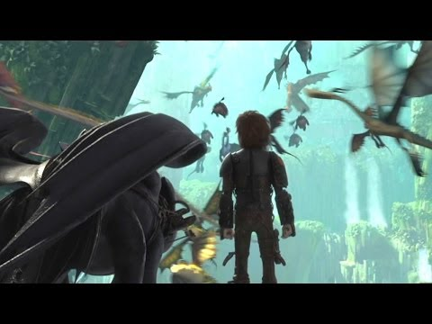 How to Train Your Dragon 2 (Clip 'The Dragons' Lair')