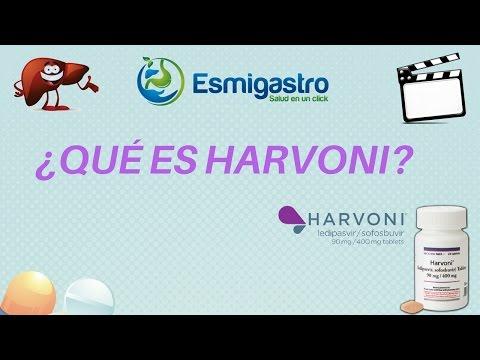 ¿Qué es el Harvoni? (sofosbuvir / ledipasvir)