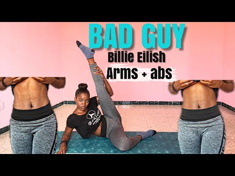 Billie Eilish- BAD GUY (Donald trump cover)| ABS & ARMS WORKOUT.