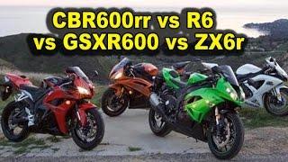 5. Honda CBR600rr vs R6 vs ZX6r vs GSX-R600 - 6 Reasons To Get a CBR600rr  2007-2015