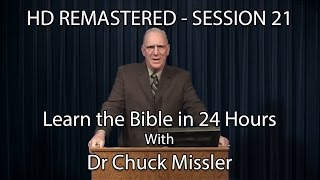 Video Learn the Bible in 24 Hours - Hour 21 - Small Groups  - Chuck Missler MP3, 3GP, MP4, WEBM, AVI, FLV Juli 2018