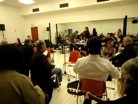"""""""El Gusto"""" répétition au Grand Rex ce 7 janvier 2012"""