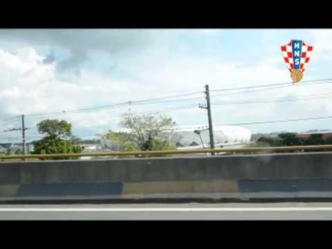 Dolazak reprezentacije u Manaus