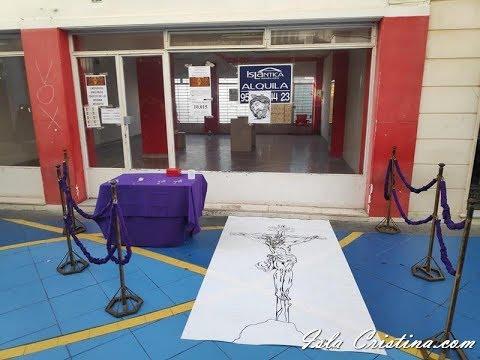 I Mosaico «Pro Paso» Cristo de la Buena Muerte de Isla Cristina