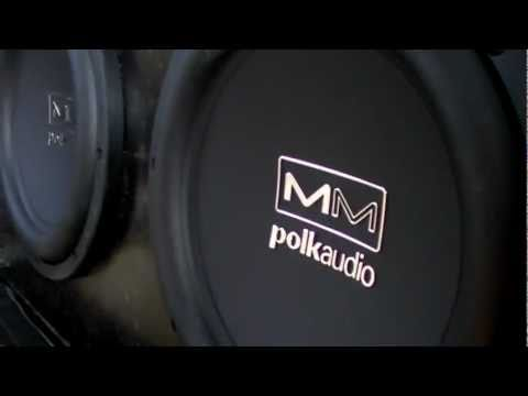 polk audio subwoofer - My friends new system in his truck 2 Polk Audio 10