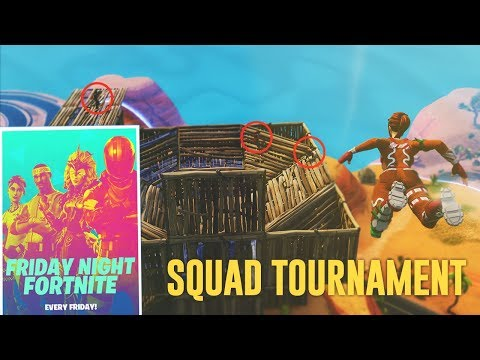 KAN DET BLI MER INTENSIVT SQUAD TOURNAMENT GAME??? (LÅGT HP HELA TIDEN) - FORTNITE PÅ SVENSKA