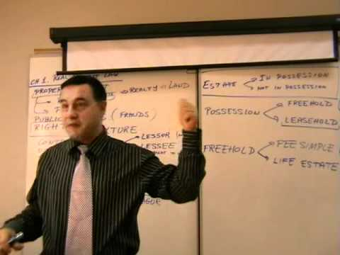 , title : 'Real Estate Finance -- Lecture 02 - Legal Concepts'