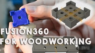Lately I have been playing with Autodesk Fusion 360 and I have to say I'm quite pleased with it! I did this little project for my last video where I had to find the center of a specific piece of wood and decided to 3d print a part for it and have it forever!Hope you like the video.Design software: Autodesk Fusion 360 http://www.autodesk.com/products/fusion-360/overviewCapturing software: OBS studio https://obsproject.com/3D printer P3steelInstagram: https://www.instagram.com/laucisro/Twitter: https://twitter.com/laucisro