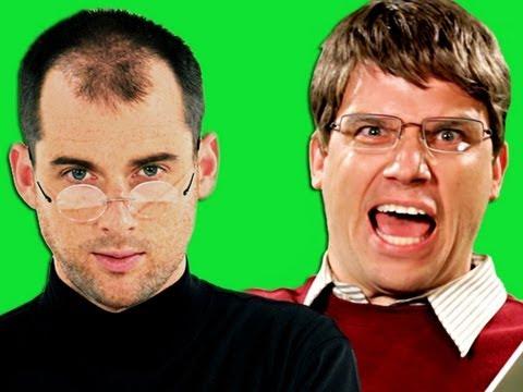 Epic Rap Battles Of History - Behind the Scenes - Steve Jobs vs Bill Gates.