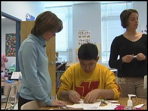 Watch video A day in the life of a special education teacher
