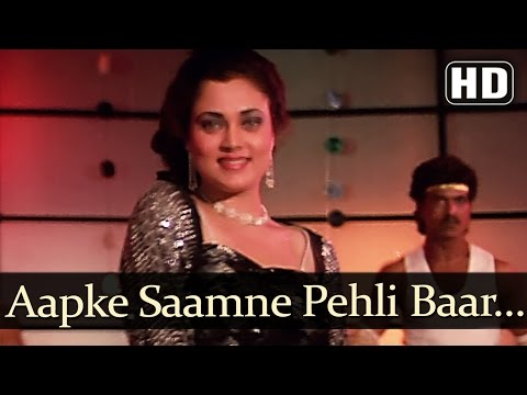 Video Aapke Saamne Pehli Baar (HD) - Dance Dance Songs - Mithun  - Smita Patil - Mandakini - Disco Dance download in MP3, 3GP, MP4, WEBM, AVI, FLV January 2017