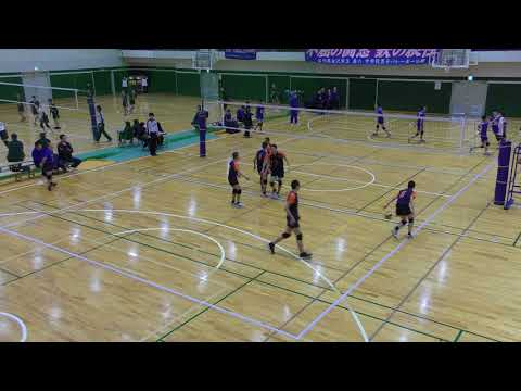 【4K】石川県中学校選抜バレーボール大会 男子 決勝 光野中学 対 兼六中学 2セット