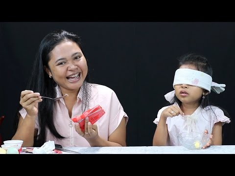 What's In My Mouth Challenge Indonesia - Makan Pete Dan Tape Singkong - Family Fun Game