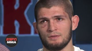 Video [FULL] Khabib Nurmagomedov on approach to Conor McGregor fight | ESPN MP3, 3GP, MP4, WEBM, AVI, FLV Desember 2018