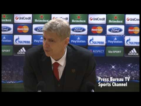 Wenger - Arsene Wenger reaction - Arsenal vs Marseille.