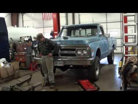 Part 1/6 1969 GMC 4x4 Meyer E 47 Snow Plow Installation