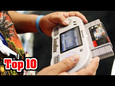Top 10 VIDEO GAME Handhelds YOU'VE NEVER HEARD OF