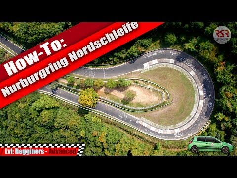 How to tackle the Nurburgring Nordschleife