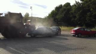 Under optagelser af TV programmet ' bensin i blodet' 2012.