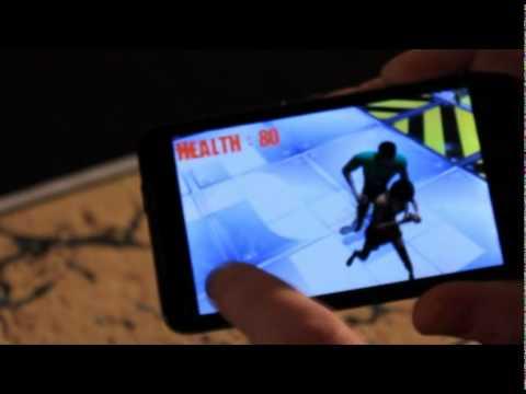 Video of Zombie Room AR Demo